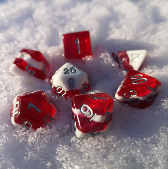 Ice Cream Dice Merry Critmas! Candy Cane Dice
