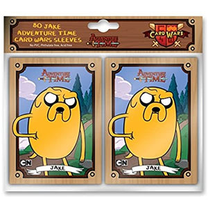 Adventure Time Card Wars 80 Count Jake Sleeves
