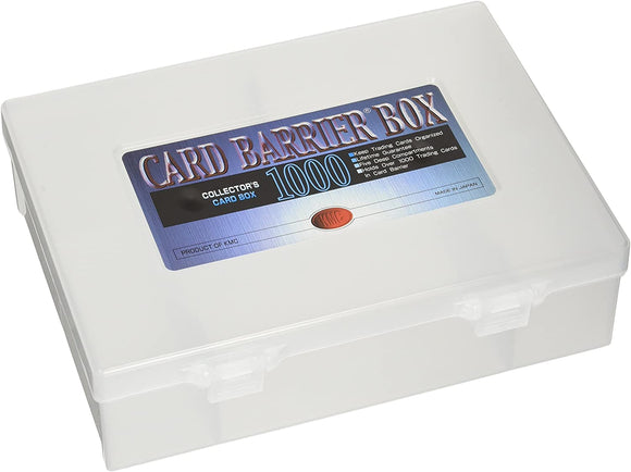 KMC CARD BARRIER BOX - COLLECTOR'S CARD BOX 1000