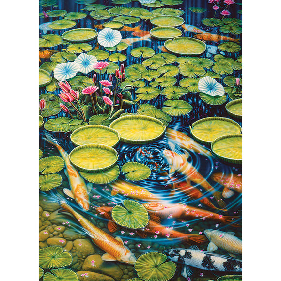 Koi Pond  1000 pcs
