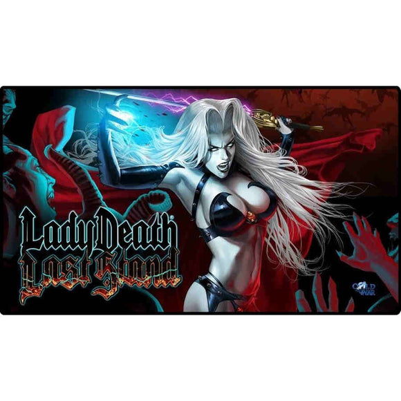 Lady Death The last Stand Playmat