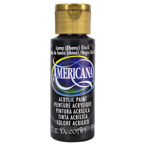 Americana  Lamp Ebony Black 2oz