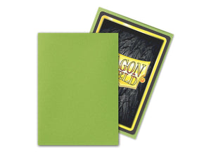 Lime 100ct Standard Sleeves