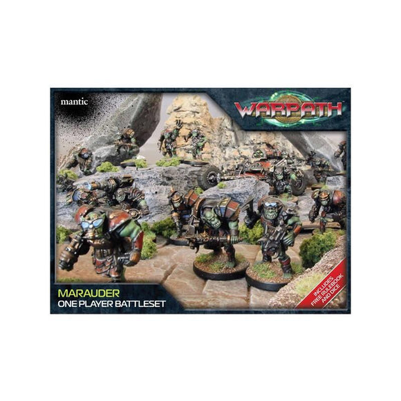 Warpath Marauder 1 Player Battleset