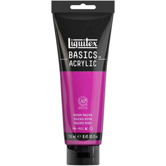 Liquitex BASICS Acrylic Paint 8.45oz Medium Magenta