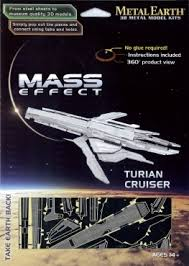 Metal Earth MASS EFFECT TURIAN CRUISER