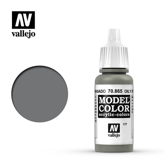 Vallejo 70.865 Oily Steel