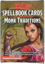 Dungeons & Dragons: Monk Paths Spellbook Cards (Fifth Edition)