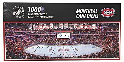 1000pc Panoramic Montreal Canadiens PUZZLE