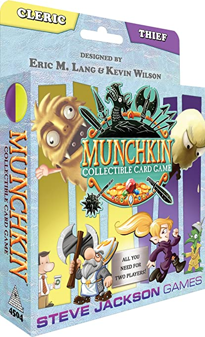 Munchkin CCG: Cleric and Thief Starter Card Game