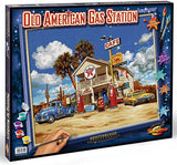 Old American Gas Station