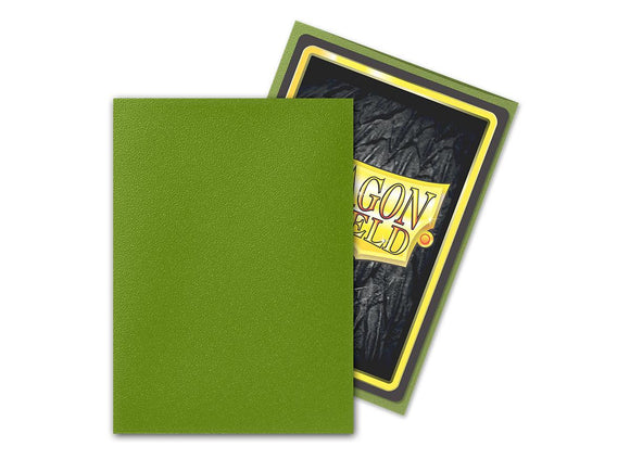 Olive Matte 60ct Standard Sleeves