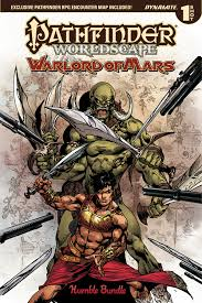 PATHFINDER WORLDSCAPE WARLORD OF MARS ONE SHOT