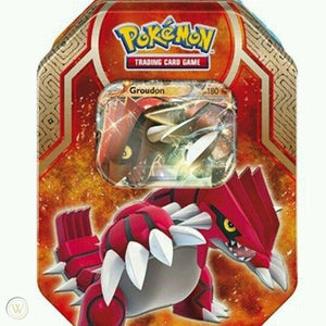 POKEMON-LEGENDS OF HOENN ARISE TIN-GROUDON