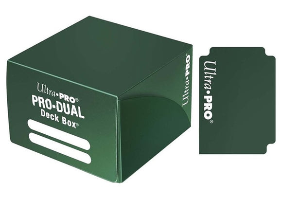 Ultra Pro: Pro-Dual Deck Box - Green