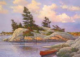 Cobble Hill  1000pc Puzzle - Red Canoe