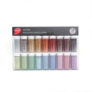 DeSerres Glitter Powder - Basic colours
