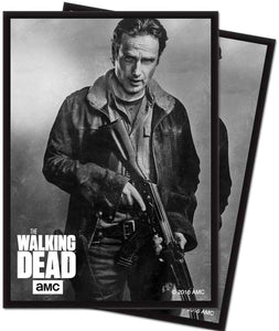 The Walking Dead Rick Standard Sleeves [50 Count]