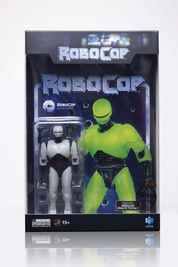 HCF 2020 ROBOCOP GLOW IN THE DARK PX 1/18 SCALE FIG