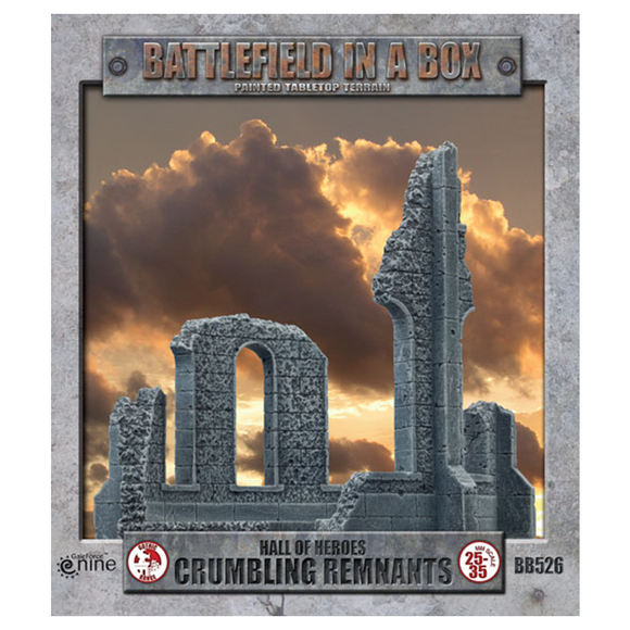 Battlefield in a Box Hall Of Heroes: Crumbling Remnants (BB526)