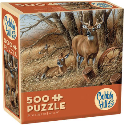 Cobble Hill Rustic Retreat 500pc Puzzle
