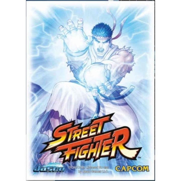 Arcane Tinmen Sleeves: Dragon Shield Limted Edition Art Classic: Street Fighter Ryu