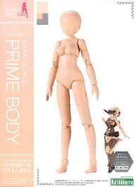 Hand Scale Prime Body (Plastic model)