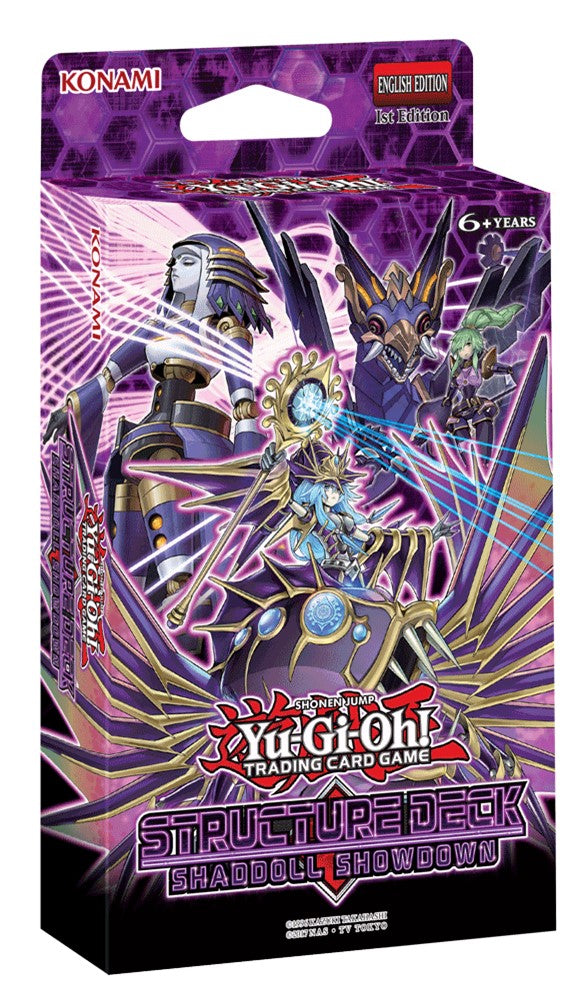 Yugioh: Shaddoll Showdown Structure Deck