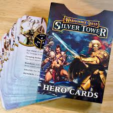 Warhammer Quest Silver Tower hHero Card set