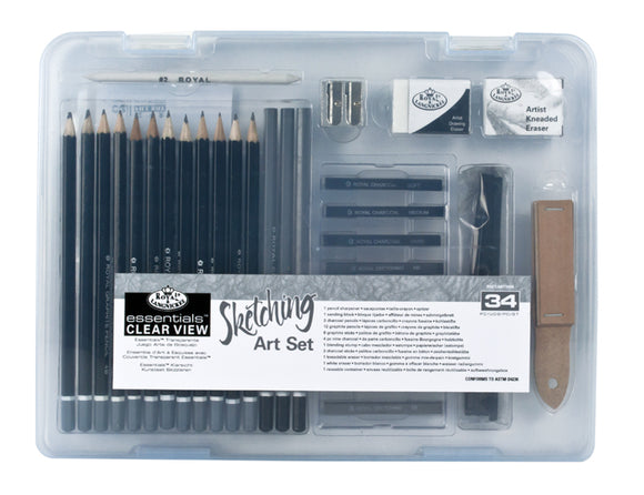 RSET-ART3105 - SM CLEAR CASE SKETCH SET