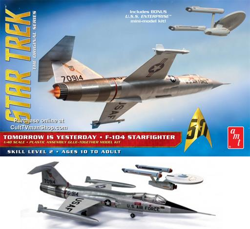 AMT953 Star Trek F-104 Starfighter Kit 1/48