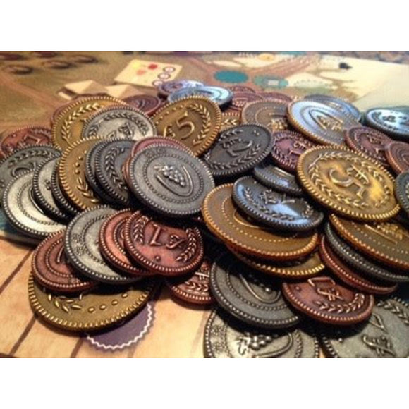 Viticulture/Tuscany: Metal Coins (Lira)