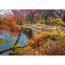Walk in Central Park, New York Puzzle 1000 pc