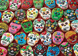 1000pc Puzzle Cobble Hill Sugar Skull Cookies