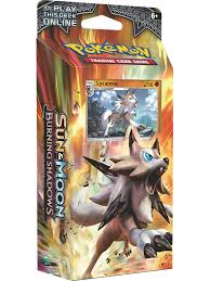 Sun & Moon—Burning Shadows Theme Decks