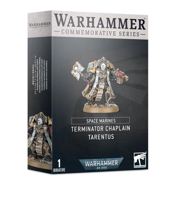 Commemorative Series: Terminator Chaplain Tarentus