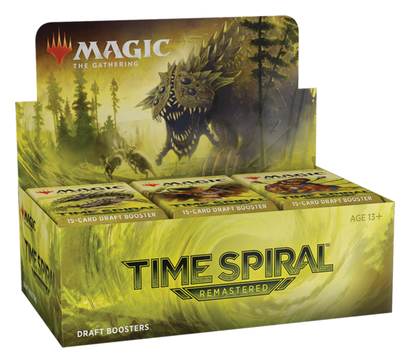 Magic the Gathering - TIME SPIRAL REMASTERED - BOOSTER BOX