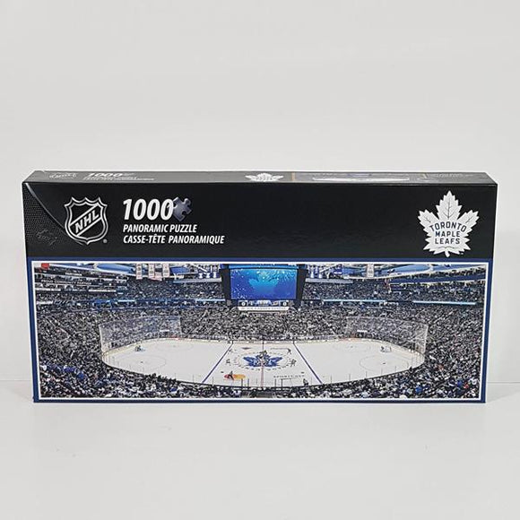 1000pc Panoramic TORONTO MAPLE LEAFS PUZZLE