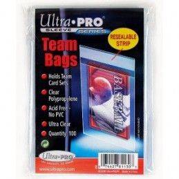 ULTRA PRO CARD SLEEVES - TEAM BAGS RESEALABLE
