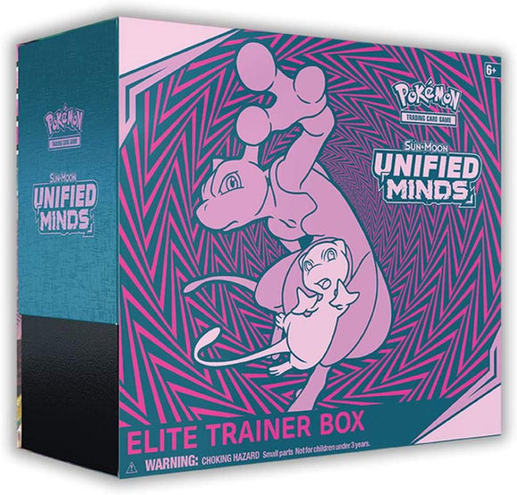 Pokemon TCG: Sun & Moon—Unified Minds Elite Trainer Box
