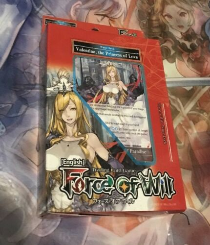 FORCE OF WILL ALICE CLUSTER VALENTINA THE PRINCESS OF LOVE