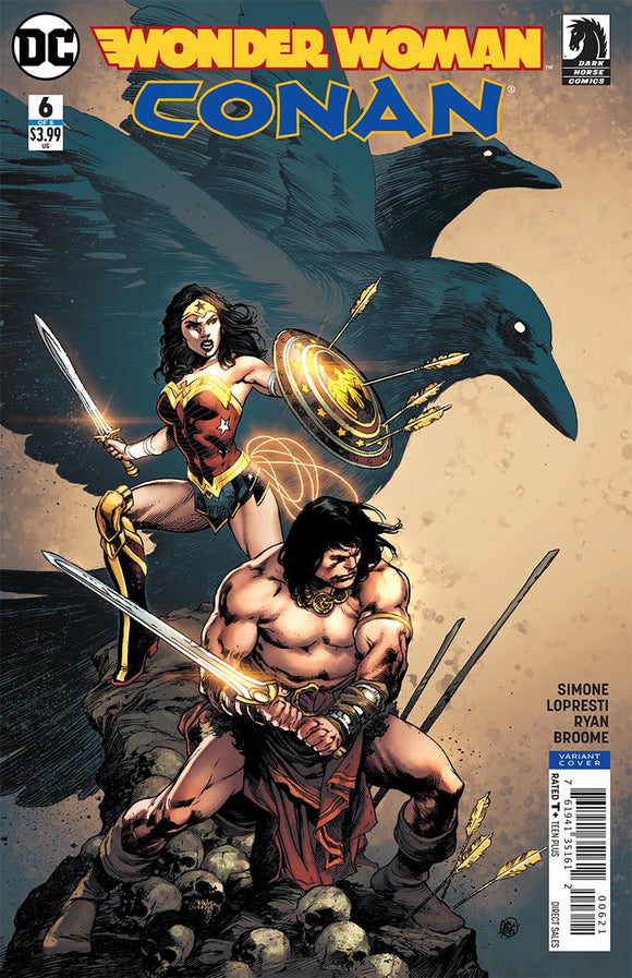 WONDER WOMAN CONAN #6 (OF 6) REIS VAR ED