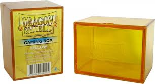 Dragon Shield: Gaming Box – Strong Box 100+: Yellow