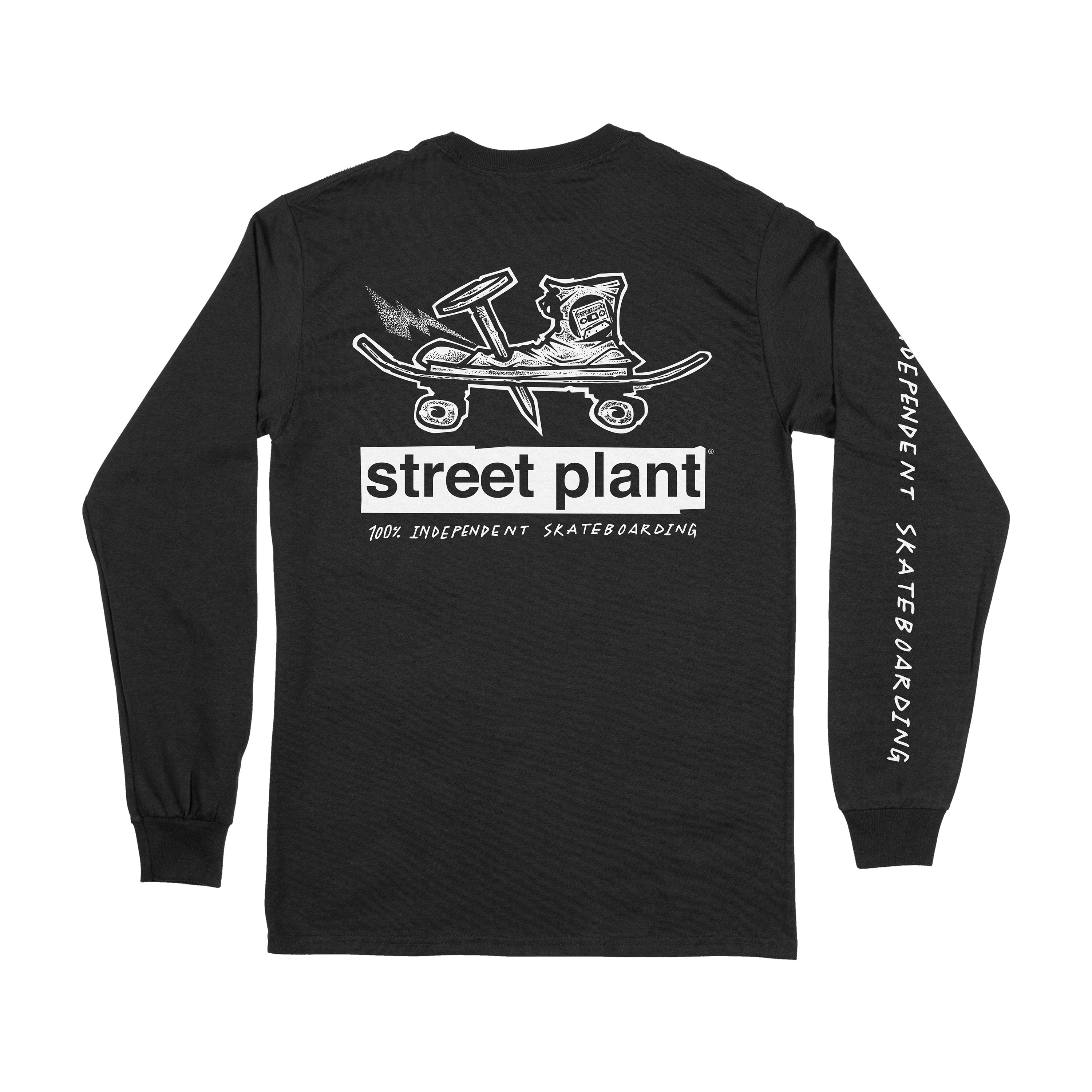 Nailed Long Sleeve T-Shirt (Black)