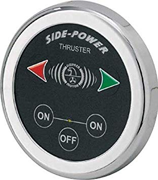 Side-Power Touch Panel, Single, Round