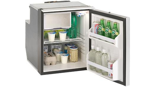 CRUISE 65 ELEGANCE BLACK FRIDGE/FREEZER - 2.3 Cu. Ft.