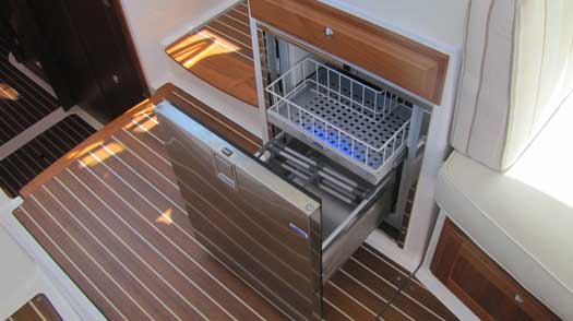 DRAWER 65 FROST FREE REFRIGERATOR  STAINLESS STEEL