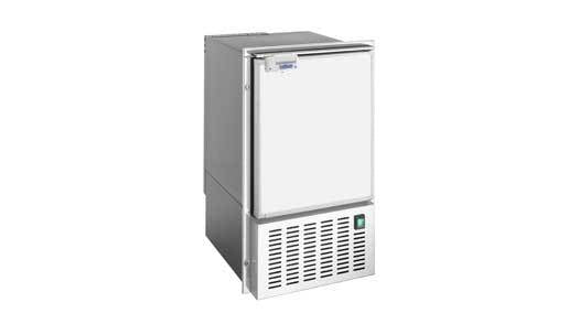 ICE MAKER WHITE - COMPLETE WHITE DOOR - PROUD MOUNT