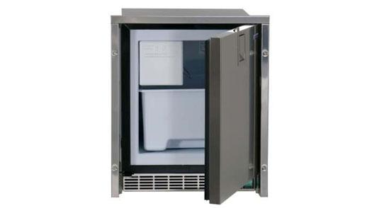 LOW PROFILE ICE MAKER - STAINLESS STEEL DOOR  FLUSH MOUNT
