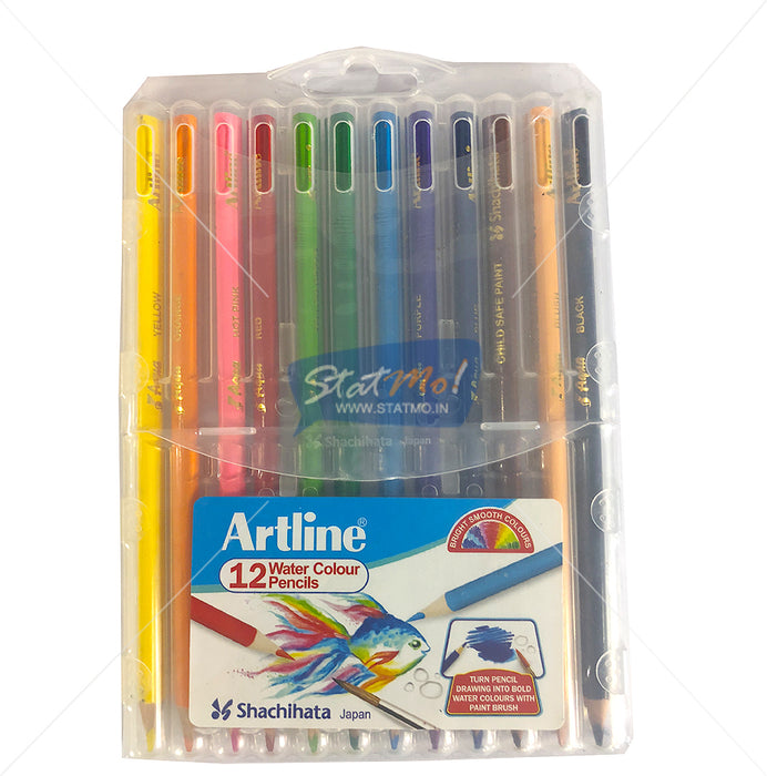 Artline 12 Water Colour Pencils